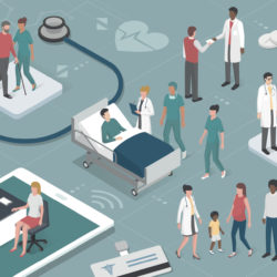 connected health in hospitals