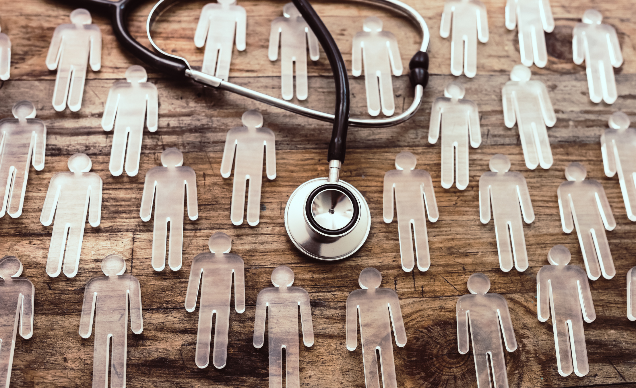 Patient Cutouts with Stethoscope